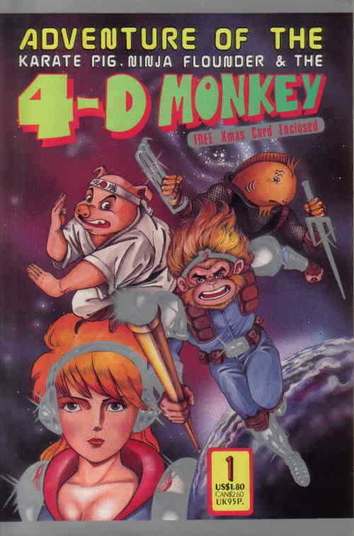 4-D Monkey, The #1 VF/NM; Leung's | save on shipping - details inside
