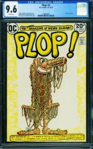 Plop! #2 1973 cgc 9.6- DC Weird Humor- Basil Wolverton- 1240660001