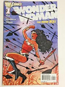 WONDER WOMAN#1 NM 2011 FIRST PRINT DC COMICS THE NEW 52!