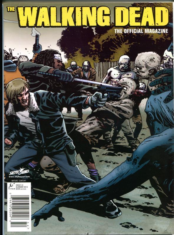 WALKING DEAD MAGAZINE #4, NM, Zombies, Horror, Kirkman, 2012, more TWD in store