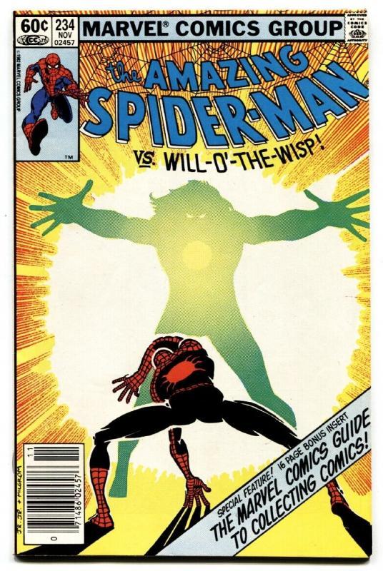 AMAZING SPIDER-MAN #234 comic book-1982-MARVEL