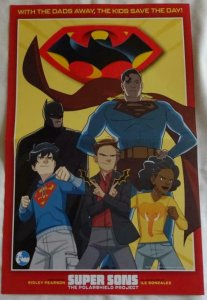 SUPER SONS Promo Poster , 11 x 17, 2019, DC, Unused more in our store 049 Batman