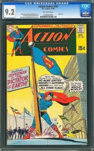 Action Comics #381 (DC, 1969) CGC 9.2