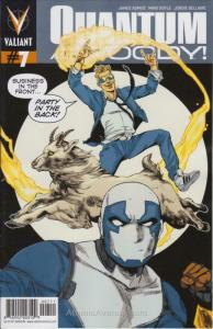 Quantum & Woody (2nd Series) #7 FN; Valiant | save on shipping - details inside