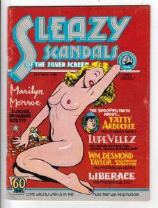 Sleazy Scandals #1 (Jan-74) FN Mid-Grade Fatty Arbuckle, Lupe Velez, Wm.Desmo...