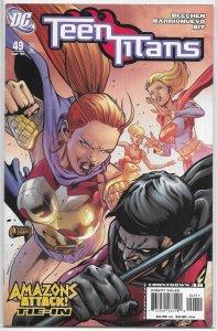 Teen Titans   vol. 3   # 49 FN (Amazons Attack!)