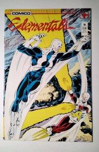 Elementals #15 (1987) Comico Comic Book J756