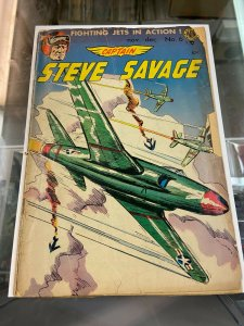 Captain Steve Savage 6 PR  Last Pre-Code Issue