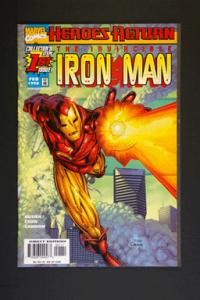 Iron Man # 1 February 1998 Vol 3.