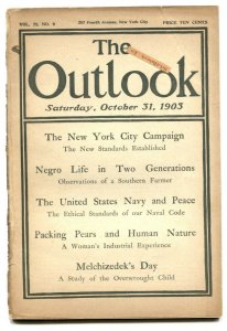Outlook 10/31/1903- New York City Campaign- Negro Life