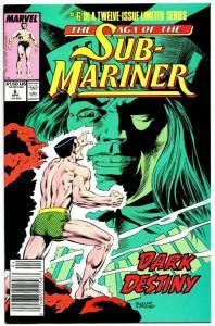 Saga of The Sub Mariner #6 (Marvel, 1989) VF