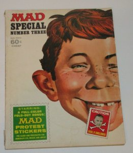 Mad Special #3 Stickers Included 1970 EC Publications Magazine FN/VF
