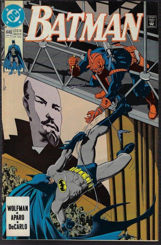 Batman #446 (DC, 1990) NM