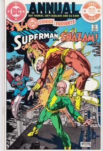 DC COMICS PRESENTS #3, NM-, Annual, Superman, Shazam, DC, 1984 more in store