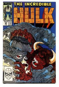 INCREDIBLE HULK #341-HULK-MCFARLANE-VF/NM Comic book