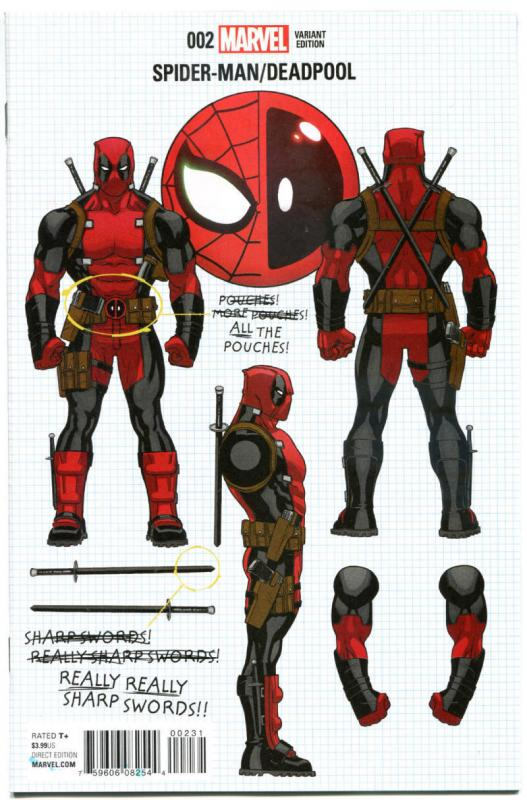 SPIDER-MAN DEADPOOL #2, NM, Variant, McGuinness, 2016, Bromantic, more in store
