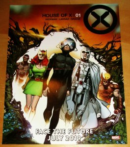 House Of X Folded Mini Promo Poster 10 x 13 (Marvel, 2019) New!