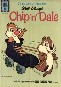 Chip 'n' Dale (1953 series) #27, Good (Stock photo)
