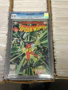 Spider-Woman 38 CGC 9.8