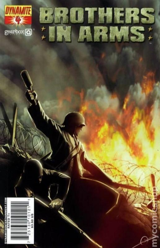 BROTHERS in ARMS #4, NM, WWII, War, Battle, 2008, more indies in store, Sejic