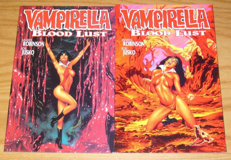 Vampirella: Blood Lust #1-2 VF/NM complete series - james robinson - joe jusko