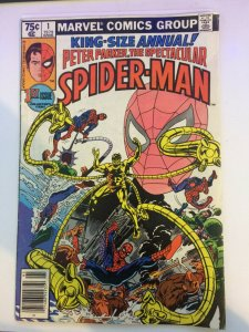 Spectacular Spider-Man King-Size Annual #1 1978 FN/VF 1979 Marvel Comics