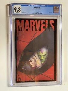 Marvels 4 Cgc 9.8 Wp Marvel Alex Ross 1994