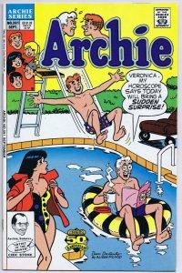 Archie #381 ORIGINAL Vintage 1990 Archie Comics GGA Good Girl Art
