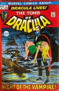 TOMB OF DRACULA OMNIBUS HARDCOVER 3 VOLUME SET VOLS.1,2,3 SEALED.