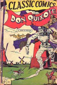 Classic Comics #11 (Jun-46) FR/GD Affordable-Grade Don Quixote