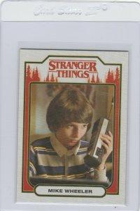 Stranger Things Mike Wheeler ST-3 Topps Netflix 2018 Season One trading card