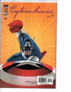 2002 Marvel Comics Captain America #13, 14 & 15  John Cassaday