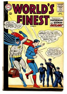 WORLDS FINEST #148 comic book 1965-DC COMICS-BATMAN-SUPERMAN