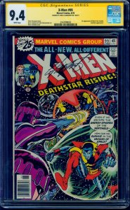 X-Men #99 CGC 9.4 SS WHITE Pgs 1st Black Tom Cassidy Signed by Chris Claremont!