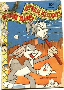 LOONEY TUNES AND MERRIE MELODIES #40-1945-BUGS BUNNY--ROBIN HOOD--DELL
