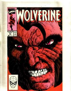 Lot of 12 Wolverine Marvel Comics #21 24 25 26 27 28 29 30 31 32 33 34 HY7