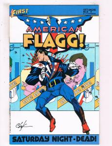 American Flagg #25 VF First Comics Comic Book 1985 DE25