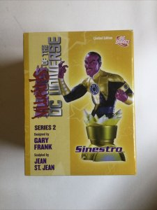 Sinestro Villains of the DC Universe Series 2 Bust Limited edition 1134 of 3000