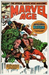 Marvel Age #65 (Marvel, 1988) VF