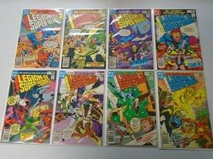 Legion of Super-Heroes run #259-266 avg 6.0 FN (1980 2nd Series)