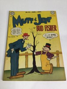 Mutt And Jeff 41 Vf Very Fine 8.0 National Comics Golden Age