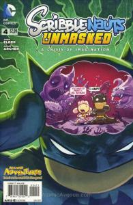 Scribblenauts Unmasked: A Crisis of Imagination #4 VF; DC | save on shipping - d
