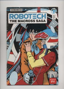 Robotech: The Macross Saga #3 (1985)
