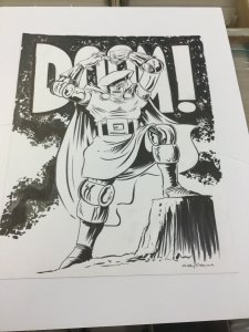 Andy Fish Awesome Dr. Doom Commission! (2014)