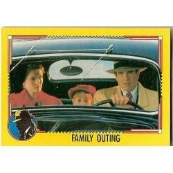 1990 Topps DICK TRACY-FAMILY OUTING #41