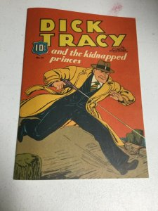 Dick Tracy And The Kidnapped Princes 15 Reprint 1983 Nm Near Mint