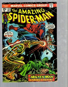 Amazing Spider-Man # 132 VF/NM Marvel Comic Book MJ Vulture Goblin Scorpion TJ1