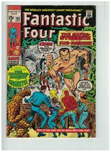 FANTASTIC FOUR 102 VG+ Sept. 1970