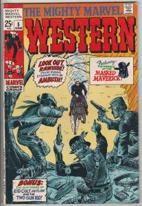 Mighty Marvel Western #5 (Jun-69) FN/VF Mid-High-Grade Rawhide Kid, Kid Colt,...