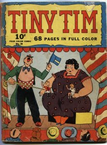 FOUR COLOR COMICS #20-1942-TINY TIM BY STANLEY LINK-NEWSPAPER REPRINTS-1ST SERIE